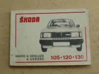 Škoda 105-120-130 Záruční list, Návod k obsluze a údržbě (Š 120 L1986)