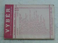 Výběr 11 (1936) ročník III.