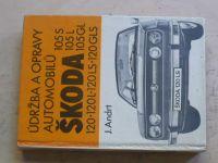 Andrt - Údržba a opravy automobilů Škoda 105-120 GLS (SNTL 1982)4)