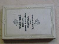 Dr. Fr. Kovář - Filosofické myšlení hellenistického židovstva (1922)
