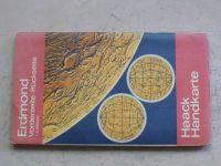 Haack Handkarte - Erdmond 1:12000000 (1984) německy, Měsíc (Země) - mapa
