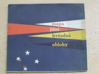Mapa jižní hvězdné oblohy (1960)
