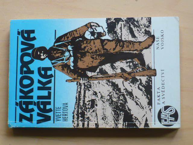Heřtová - Zákopová válka (1988) 1. sv. válka