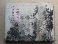 Jan Drejs - Ostrůvek přátelství (1948) obálka a il. Z. Burian