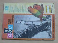 ABC 1-24 (1975-76) ročník XX. (chybí čísla 2-3, 7, 9-12, 14, 22, 24, 14 čísel)