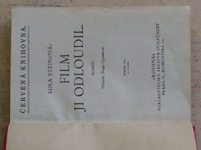 Červená knihovna: Steinová - Film ji odloudil