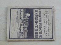 Duchoň - Hnojařský slabikář (1928) Stručná příručka o hnojivech a hnojení hosp.plodin