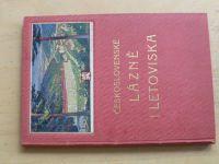 Československé lázně i letoviska (1929)