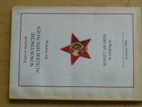Herfurth - Sowjetische auszeichnungen Ein Katalog (1993) Sovětská vyznamenání