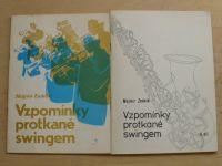 Mojmír Zedník - Vzpomínky protkané swingem I. II. (1987) podpisy autora