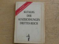 Patzwall - Katalog der Auszeichnungen Drittes Reich (1992) Vyznamenání Třetí říše