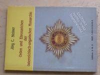 Steiner - Orden u Ehrenzeichen der Österreichisch-ungarischen Monarchie (1991)