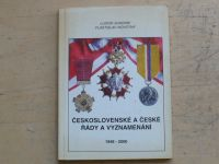Sukeník, Novotný - Československé a české řády a vyznamenání - II. díl 1948-2000