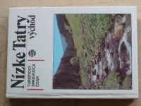 Turistický sprievodca ČSSR - Nízke Tatry východ (1982) slovensky