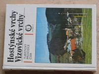 Turistický průvodce ČSSR - Hostýnské vrchy, Vizovické vrchy (1988)