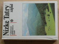 Tustický sprievodca ČSSR - Nízke Tatry západ (1982) slovensky