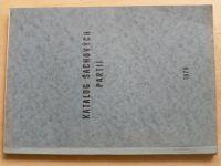 Katalog šachových partií (1979)