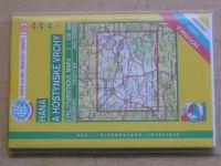 Cykloturistická mapa 1:100 000 - Haná a Hostýnské vrchy (2001)