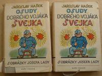 Hašek - Osudy dobrého vojáka Švejka I.-IV. (1955) il. Lada
