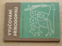 Vyučování přírodopisu v sedmém roč. ZDŠ (1961)