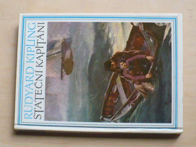 Kipling - Stateční kapitáni (1970) il. Z. Burian