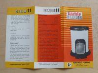 Kachle CLUB 11 - Kovosmalt Filakovo - kamna -  prospekt A4 oboustranný