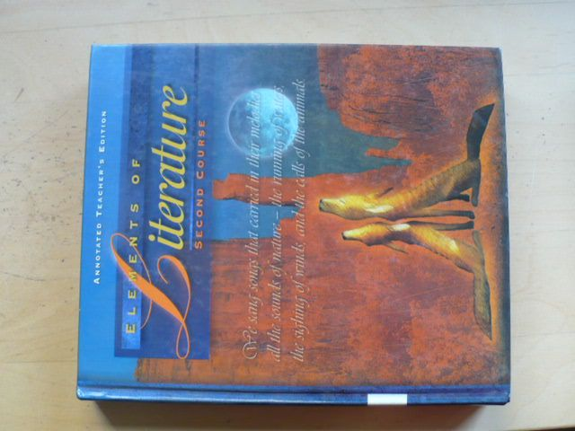 Elements of Literature - Second Course - Annotated Teacher´s Edition (1997) anglicky