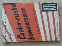 Evergetová - Česko-ruská konversace (1947) Živá mluva dnešního SSSR