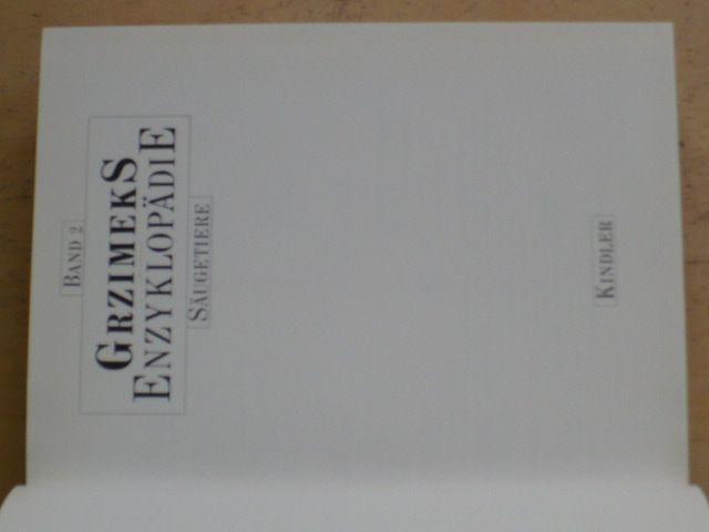 Grzimeks Enzyklopädie Säugetiere 2 (1988)