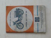 Jawa 50 typ 20 - Návod na obsluhu (1968) 2. vydání, slovensky