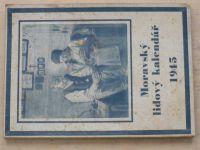 Moravský lidový kalendář 1945