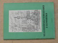 Vlastivědná pohlednice z Lomnicka (1967)