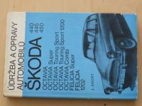Andrt - Údržba a opravy automobilů Škoda 440,445,450, Octavia, Felicia, 1202 (1974)