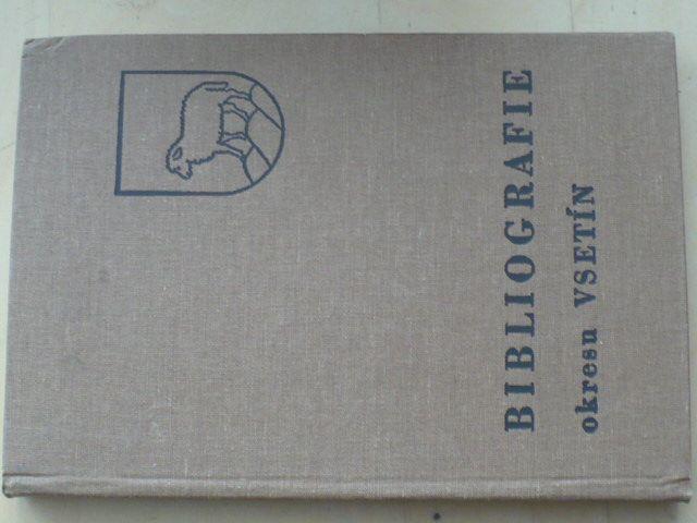 Bibliografie okresu Vsetín (1991)