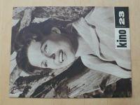 Kino 23 (1963) ročník XVIII.