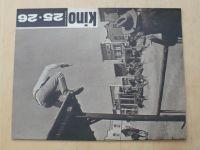 Kino 25-26 (1963) ročník XVIII. (dvojčíslo)