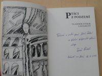 Vladimír Stibor a kol. - Ptáci z podzemí - Almanach české poezie (2013)