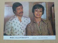 Noc klavíristy - 8 filmových plakátů