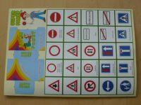 Pexeso Super paměť s dopravními značkami (nedatováno)