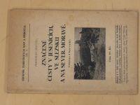 Dostál - Značené cesty v Jesenících, ve Slezsku a na sever.Moravě (1928)