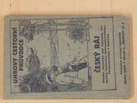 Kamenický - Český ráj - Uhrovy cestovní průvodce (1924)