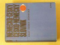 Německo-český, česko-německý slovník - část česká a německá (1970-71) 2 knihy