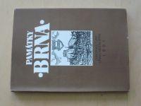 Památky Brna (1991) příloha - mapa