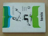 Hohm - Tenis - Technika, taktika, trénink (1982)