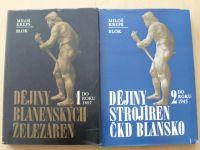 Kreps - Dějiny Blanenských železáren 1., Dějiny strojíren ČKD Blansko 2. (1978,83).