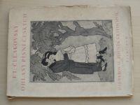 Čelakovský - Ohlasy písní českých (1925) 368/1000 kresby Z. Kratochvíl