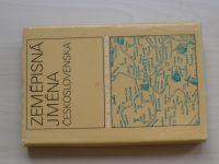 Lutterer, Majtán, Šrámek - Zeměpisná jména Československa (1982) Malé encyklopedie