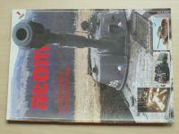 ATOM - Armádní technický obrazový magazín 1-12 (1989) ročník XXI. (chybí číslo 12, 11 čísel)