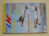 Letectví a kosmonautika 15-16 (2002) ročník LXXVIII. (dvojčíslo)