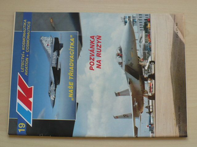 Letectví a kosmonautika 19 (1995) ročník LXXI.